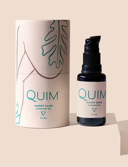 """QUIM - A SELF-CARE LINE FOR HUMANS WITH VAGINAS AND HUMANS WITHOUT VAGINAS WHO LOVE VAGINAS™️.Our mission at Quim is to create products that deepen the connection you have with your own body and empower you to care for it in the way that makes sense for you.Follow: @its.quimENTER CODE """"HUMBLELOVE"""" FOR 10% OFF"""
