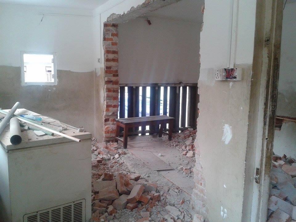 Kitchen wall hole.jpg