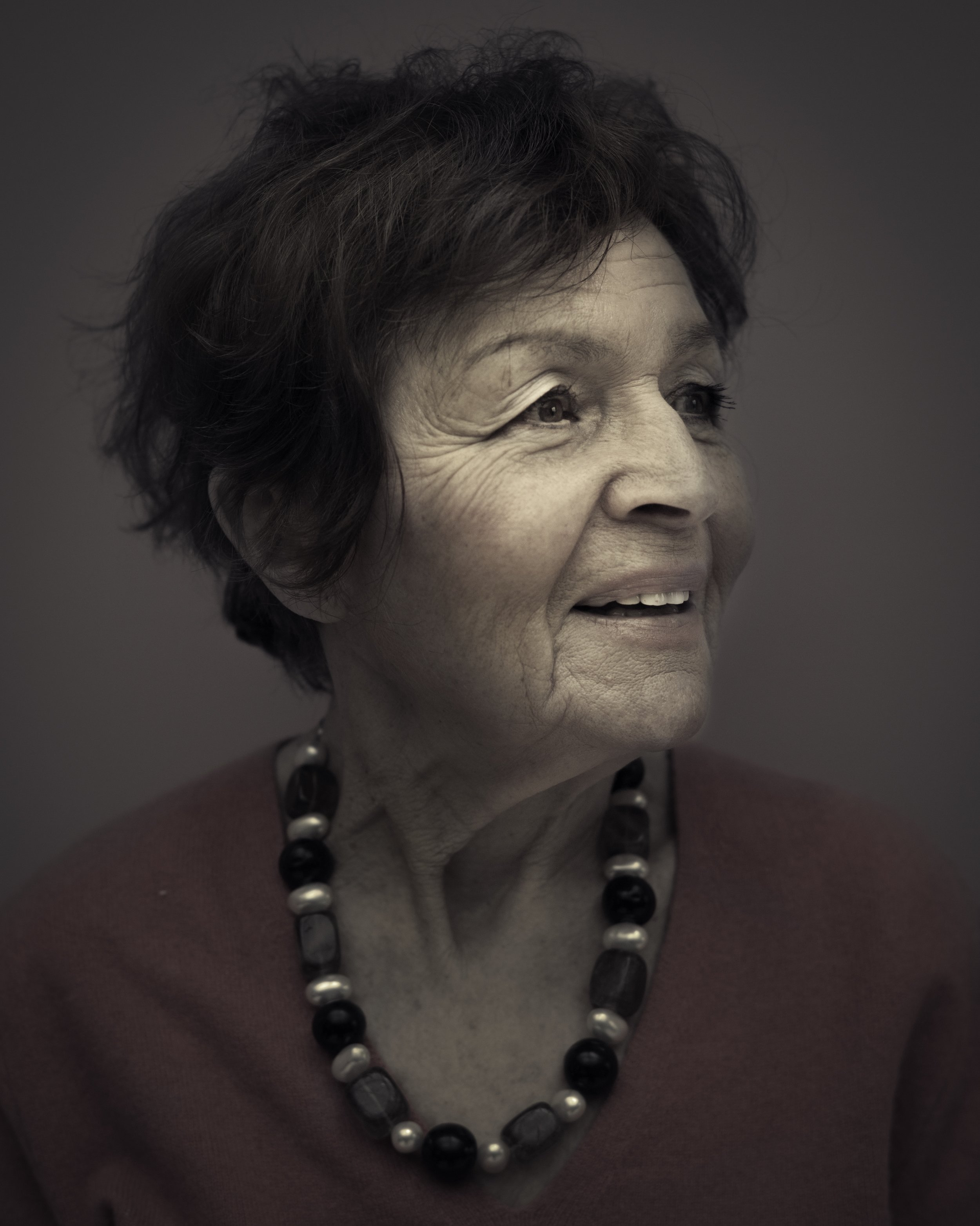 Janine - Now 82, Janine Webber has dedicated her life to telling her own unique story of the Holocaust. Now, with the short film 'Edek', she is adding another chapter in a way that has never been seen before.