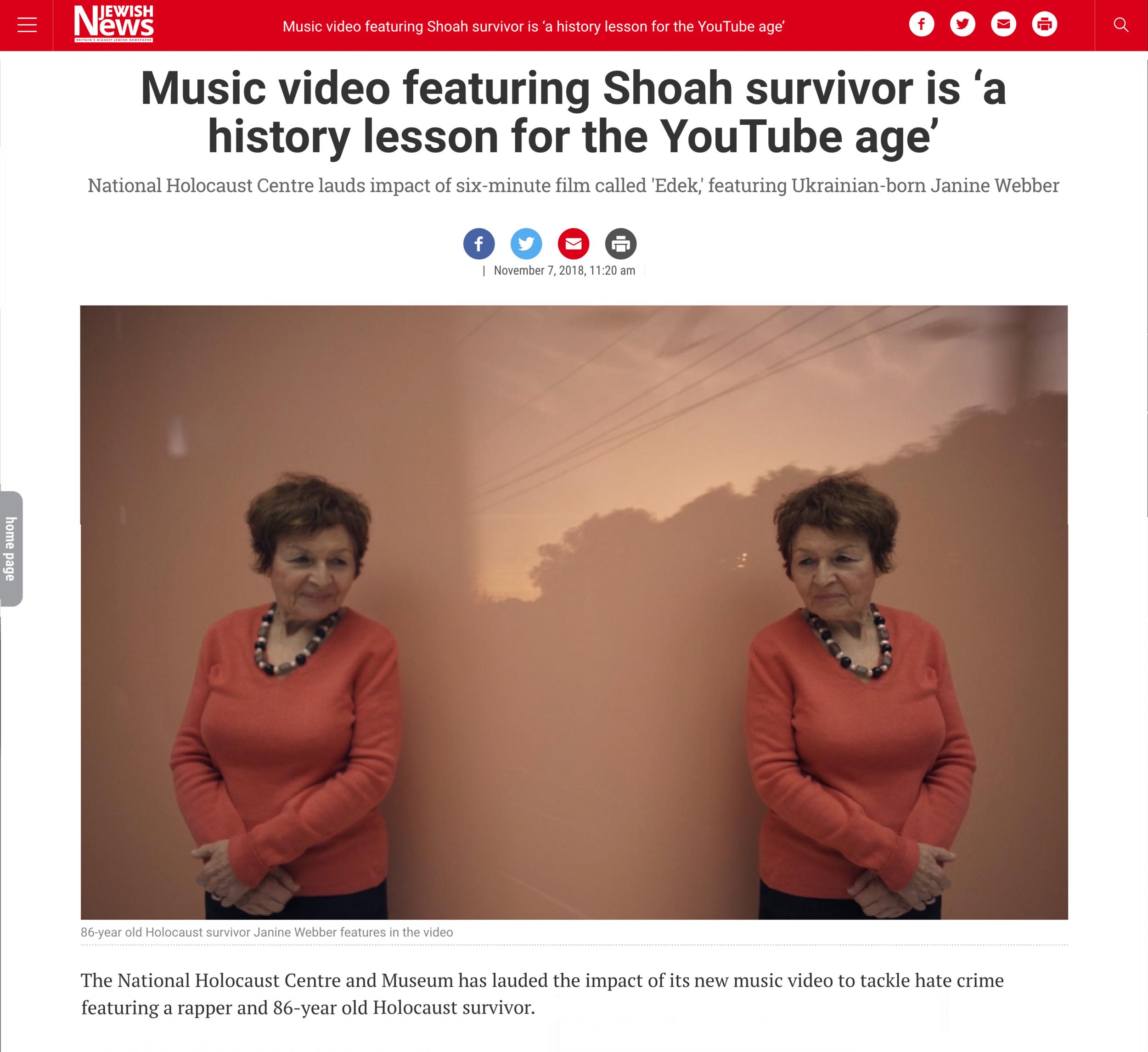 UK Jewish News November 2018 -