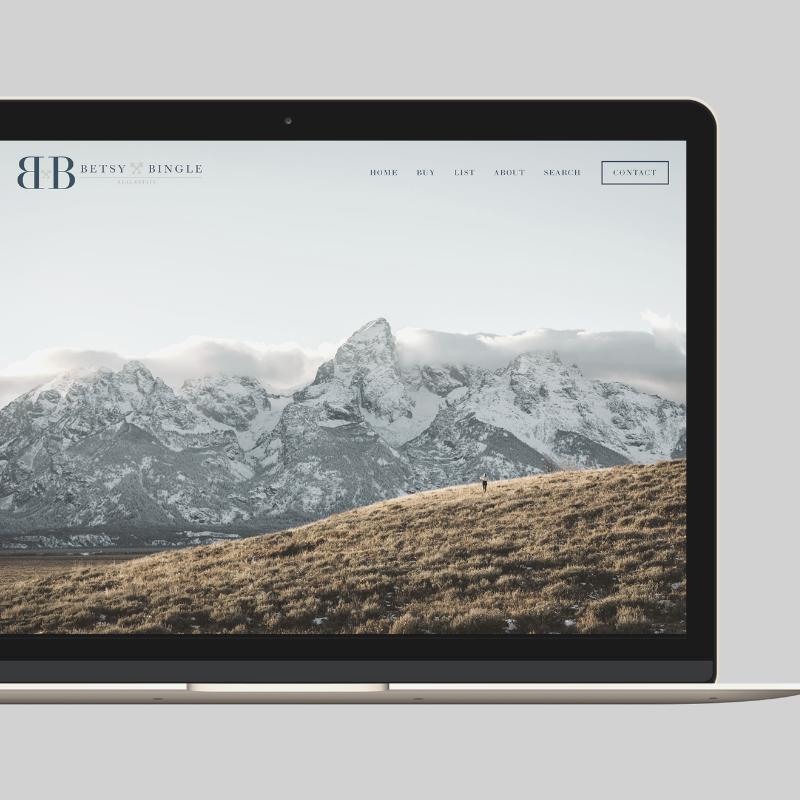 BETSY BINGLE REAL ESTATE - Website Design