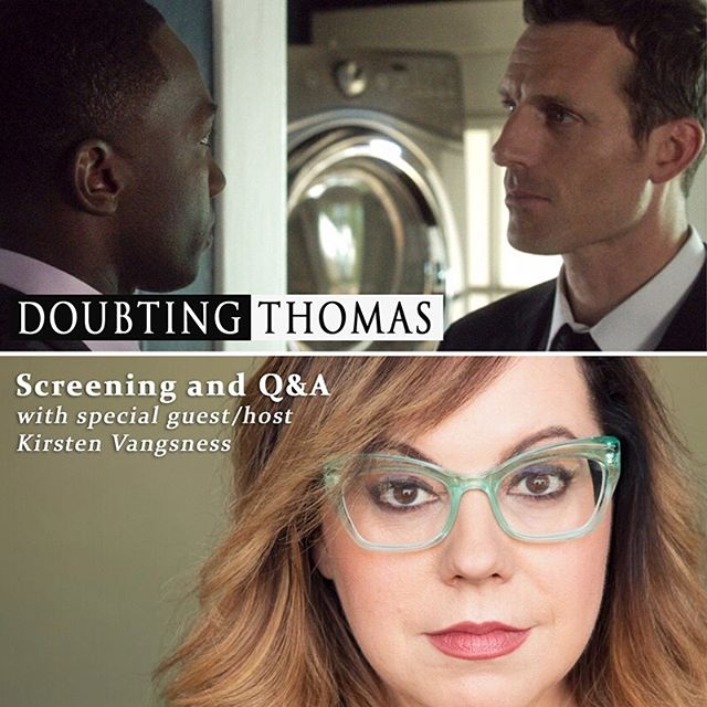 Today our film has launched on digital platforms (iTunes, Amazon Prime Video, Google Play, etc) and we are featured on the home page of iTunes!! (swipe to see) 🎉 . Tonight the multitalented Actor/Writer/Activist, @kirstenvangsness (from Criminal Minds) will be hosting our special Q&A to celebrate our North American Digital Release! It will be following the 6:50pm screening at @arenacinelounge in Hollywood. 🤗  She will be joined in discussion with our very own Writer/Director/Actor Will McFadden (@mr.willmcfadden). Maybe the giraffe will join too! 😏 . 👉click 'Official Website' link in bio 👈 . Whether or not you can make it to Hollywood tonight, support us by renting or buying our film on iTunes! Don't forget to leave a rating and review! (link in bio) . @gravitasventures  #supportindiefilm  #doubtingthomasmovie  doubtingthomasmovie.com ❤️🙏