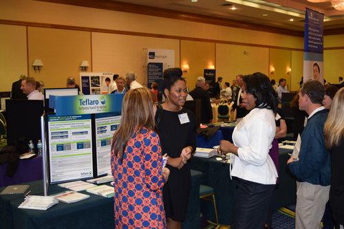 People talking at GSHP Savannah meeting