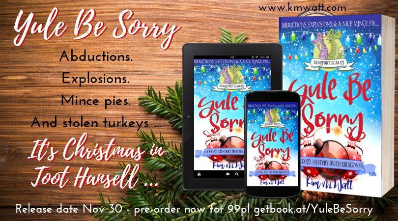Yule Be Sorry books and promo information