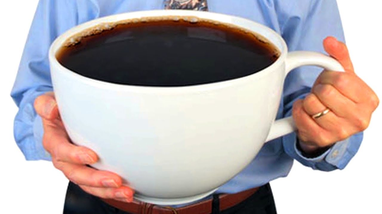 This may or may not represent JT's actual cup of coffee.