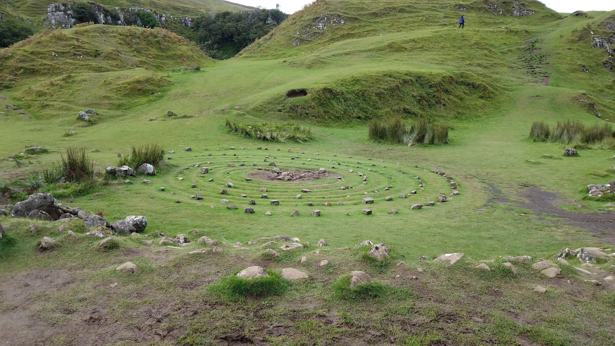 Fairy Glen, Isle of Skye, Scotland, 9.17.19