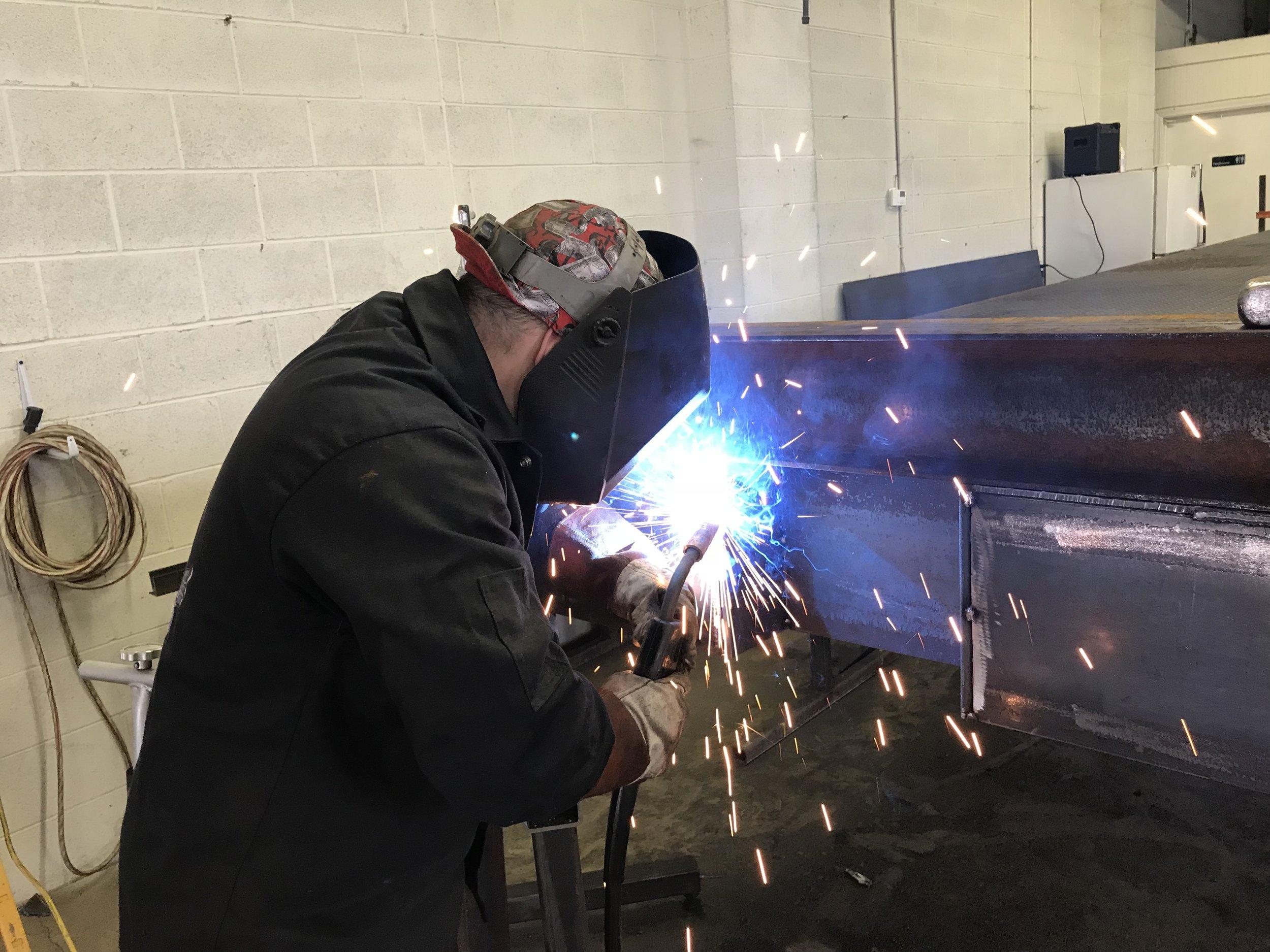 aaron welding