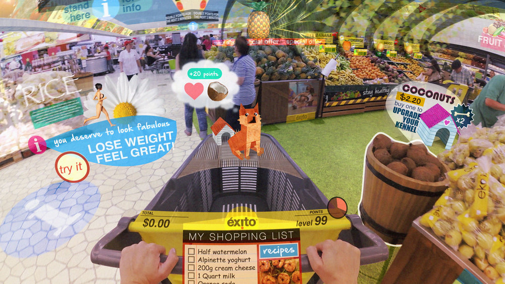 Your shopping trip in 2025 as seen from the point of view of 1995.