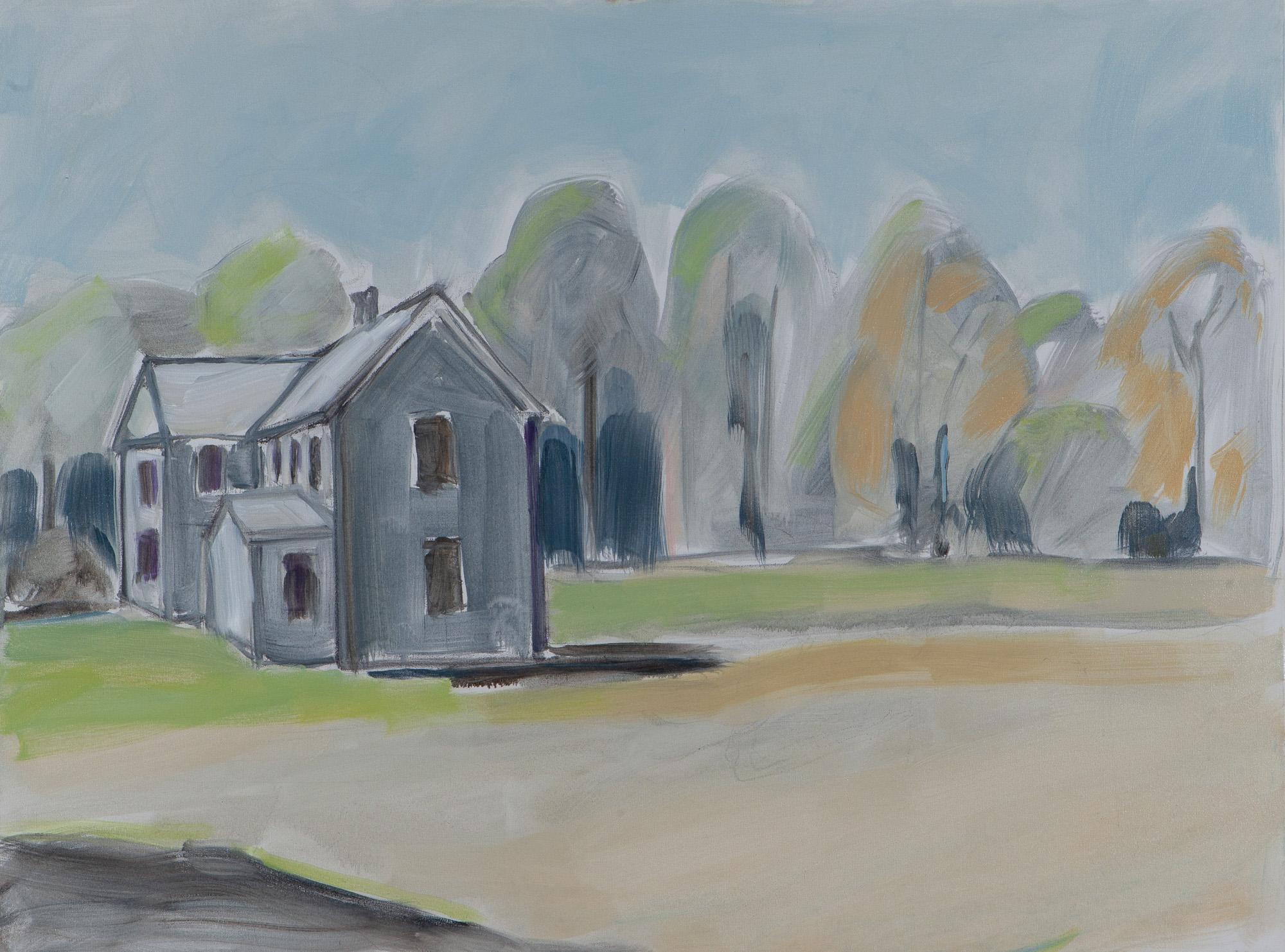 Farm House,  36 x 48, oil on canvas