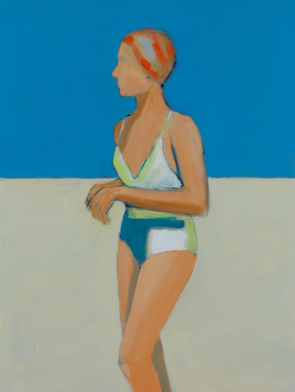 Izzy Finbow,  24 x 18, oil on canvas