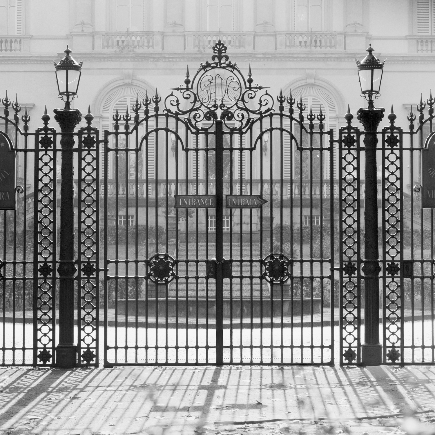 Gate with Shadows