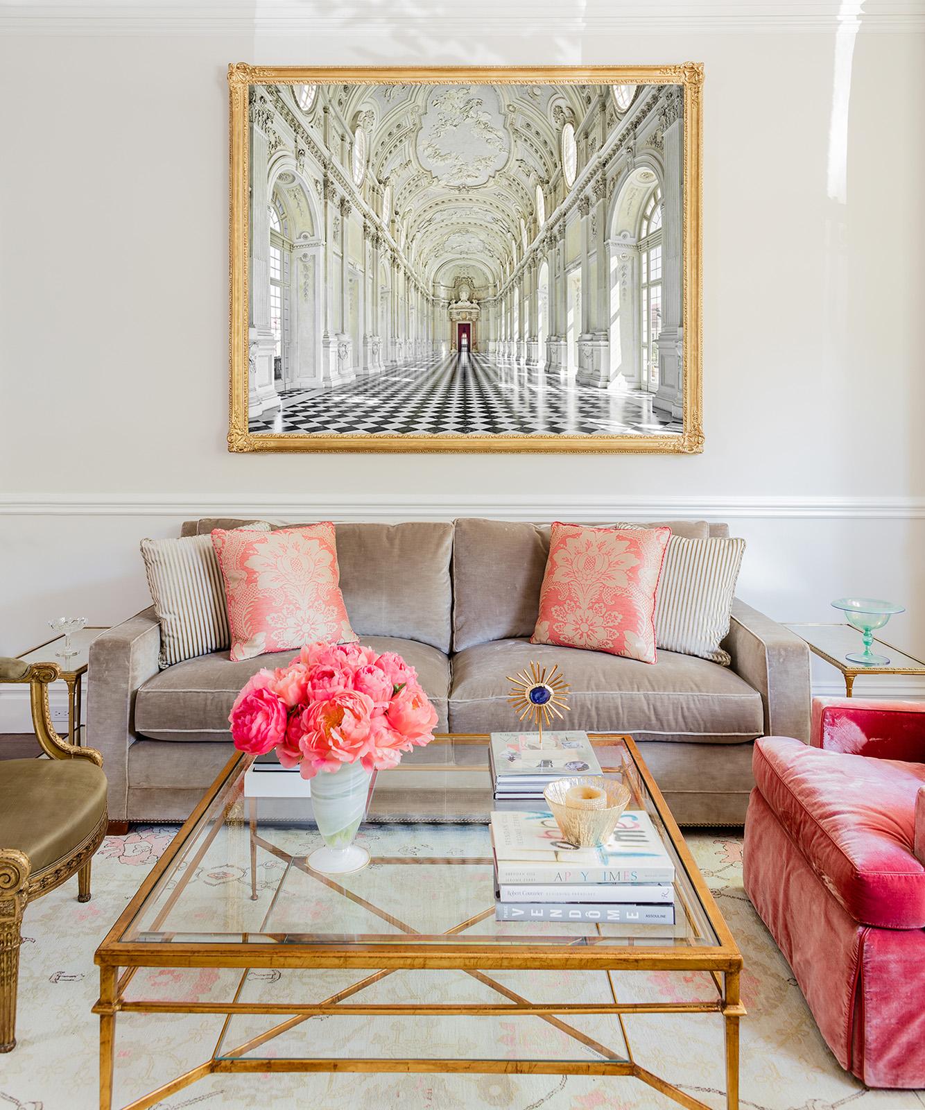 David Burdeny   - Reggia di Venaria Reale, Torino, Italy   Interior: Kristine Mullaney Design, LLC  Photo: Michael J. Lee
