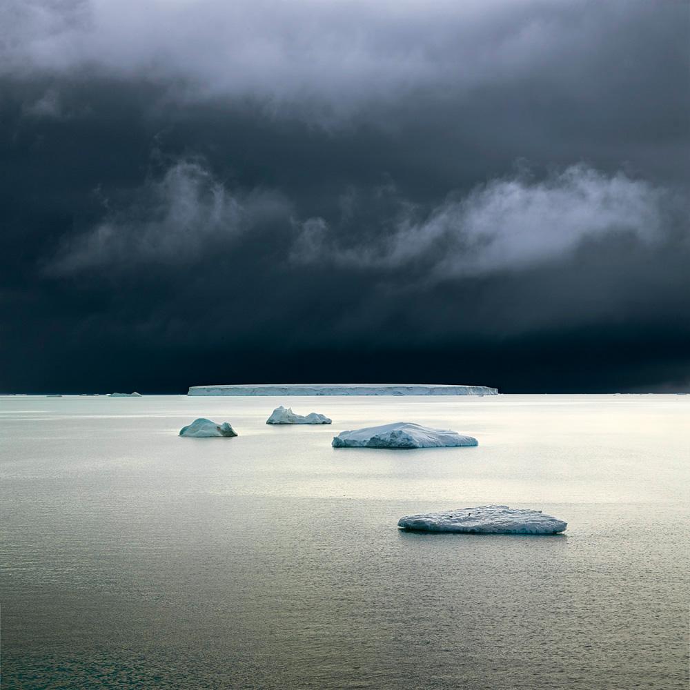 Five Icebergs, Weddell Sea, Antarctica, 2007