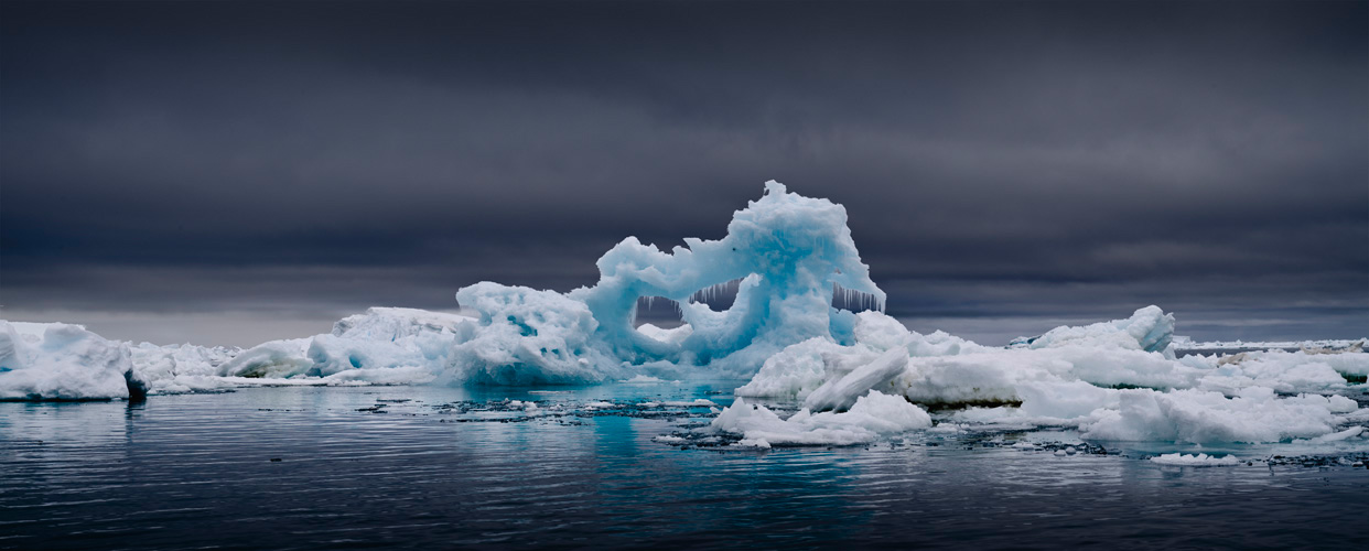 Iceberg Remains, Antarctica