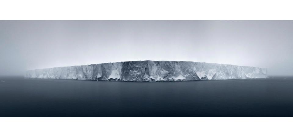 Tabular Iceberg in Fog, Antarctic Sound, 2007