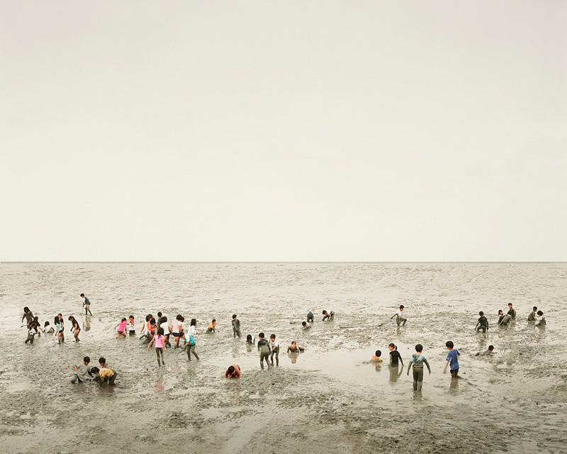Mudflat, Ariake Sea, Kyūshū, Japan, 2010
