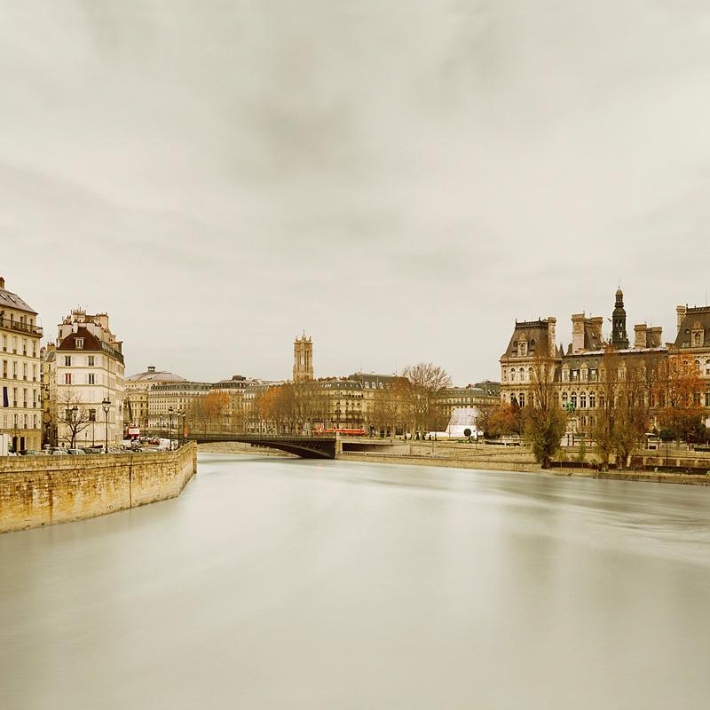 River Seine from Ponte de Sully, Paris, 2010