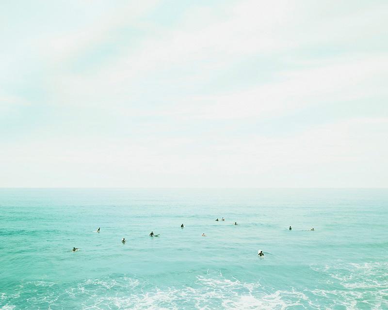 Surfers, Oahu, Hawaii, 2010