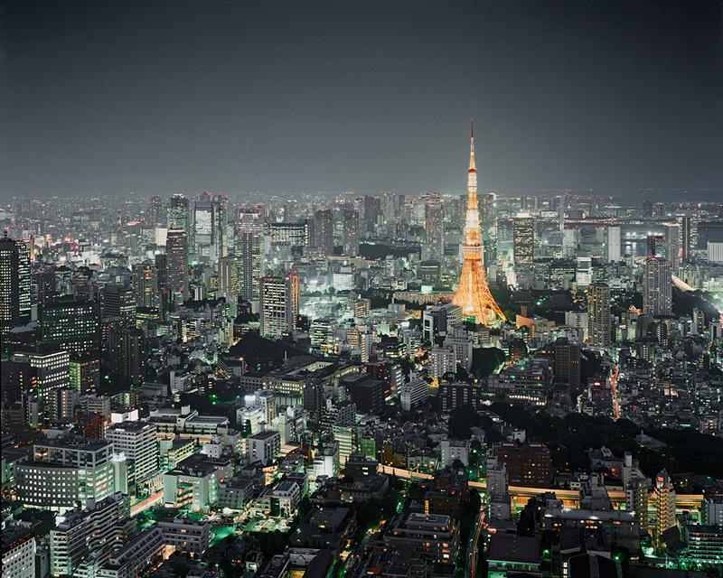 Tokyo Tower, Tokyo, Japan, 2010