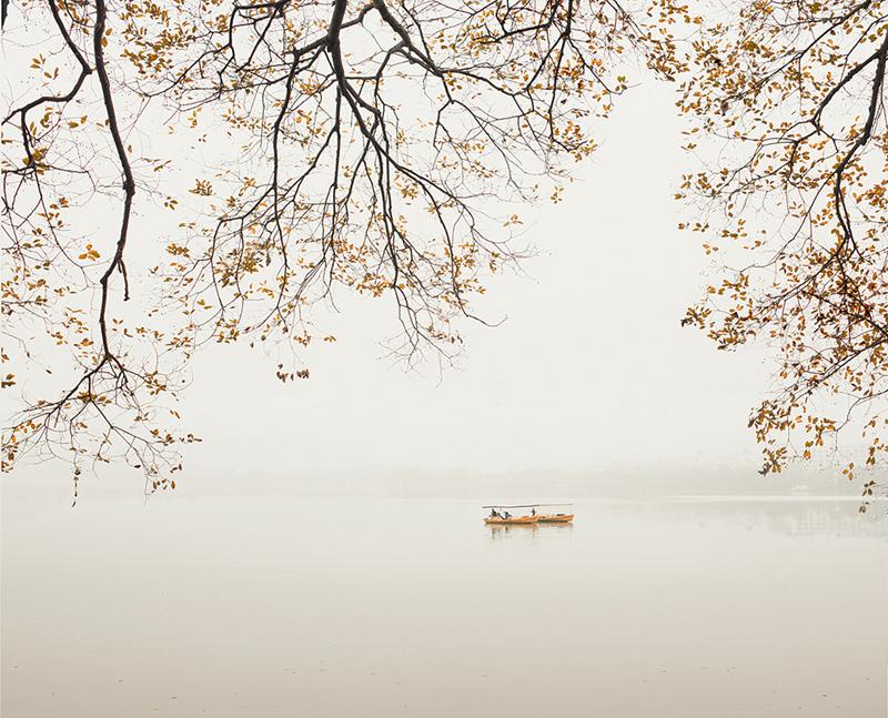 Boats, West Lake,Hangzhou, China, 2011