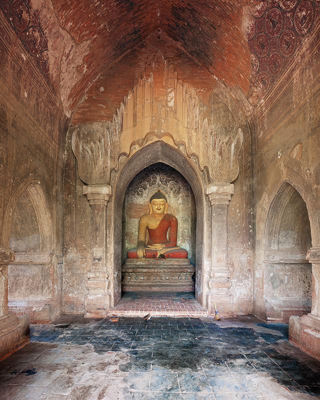Buddha, Bagan, Burma, 2011