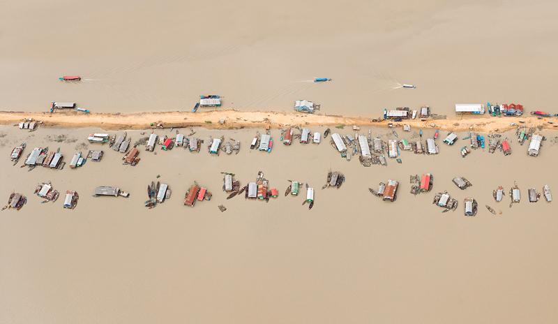 Floating Village, Tonle Sap Lake, Cambodia, 2012