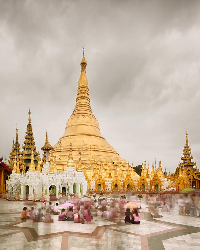 Shwedagon Pagoda, Yangon, Burma, 2011