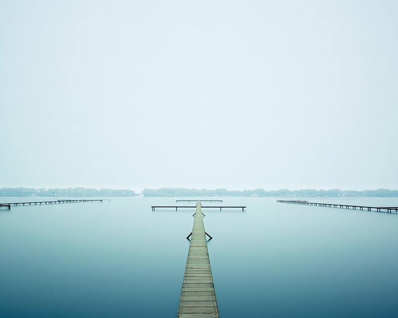 Thin Dock, West Lake, Hangzhou, China, 2011