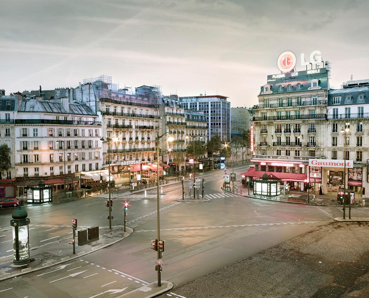 Montparnasse as Dawn, Paris, France, 2012