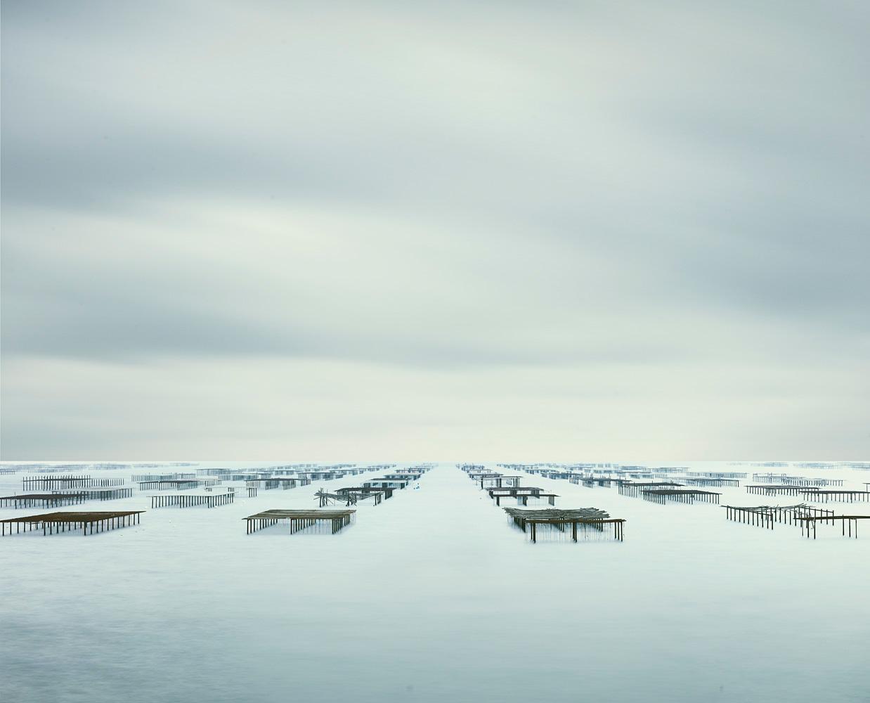 Oyster Racks, Meze, France, 2012