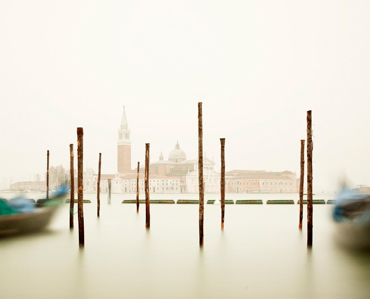 San Giorgio Maggiore with Gondola Station, Venice, 2012