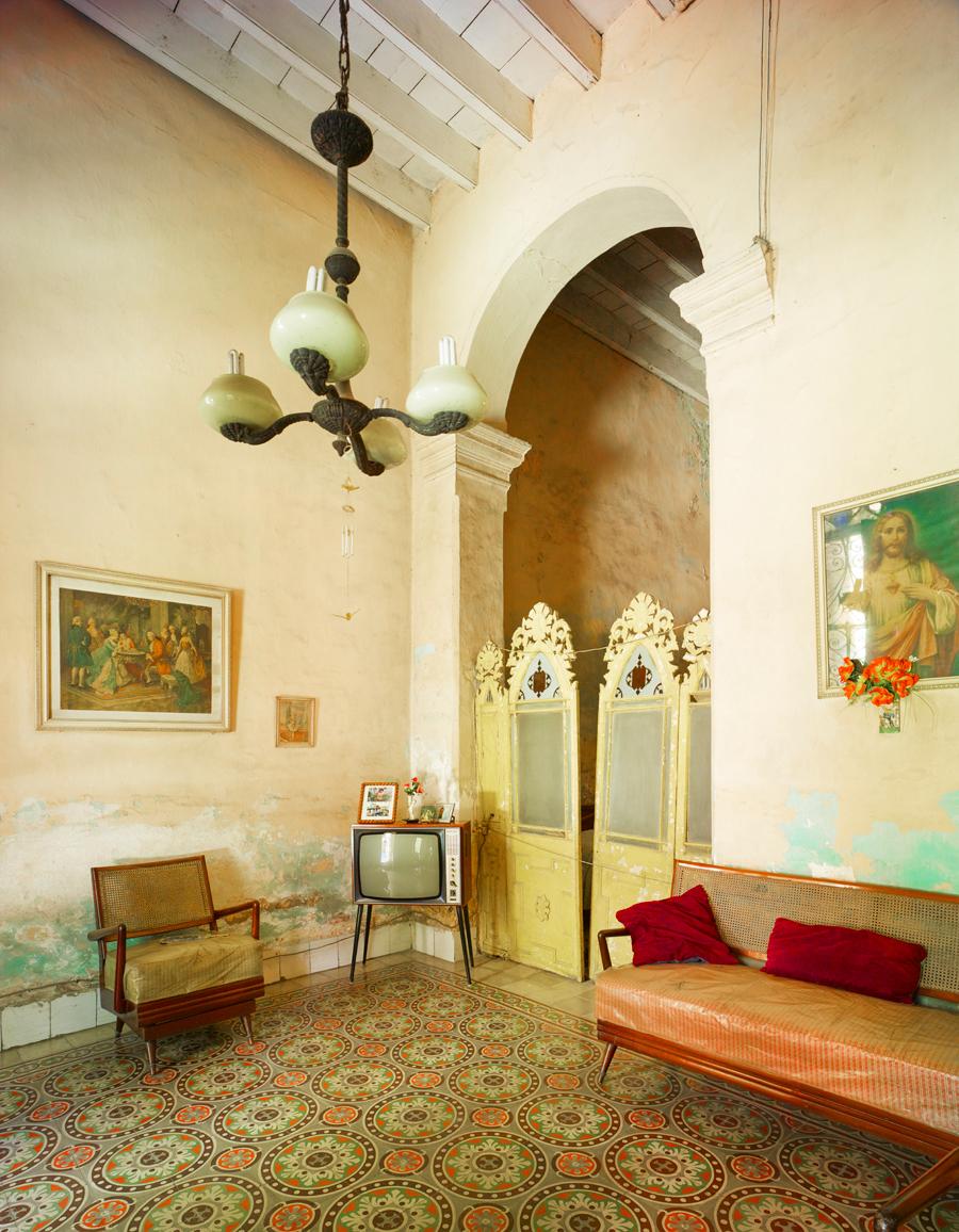 Living Room, Havanna, Cuba, 2014