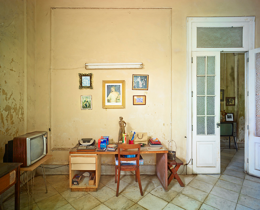 Marry's Desk, Havanna, Cuba, 2014