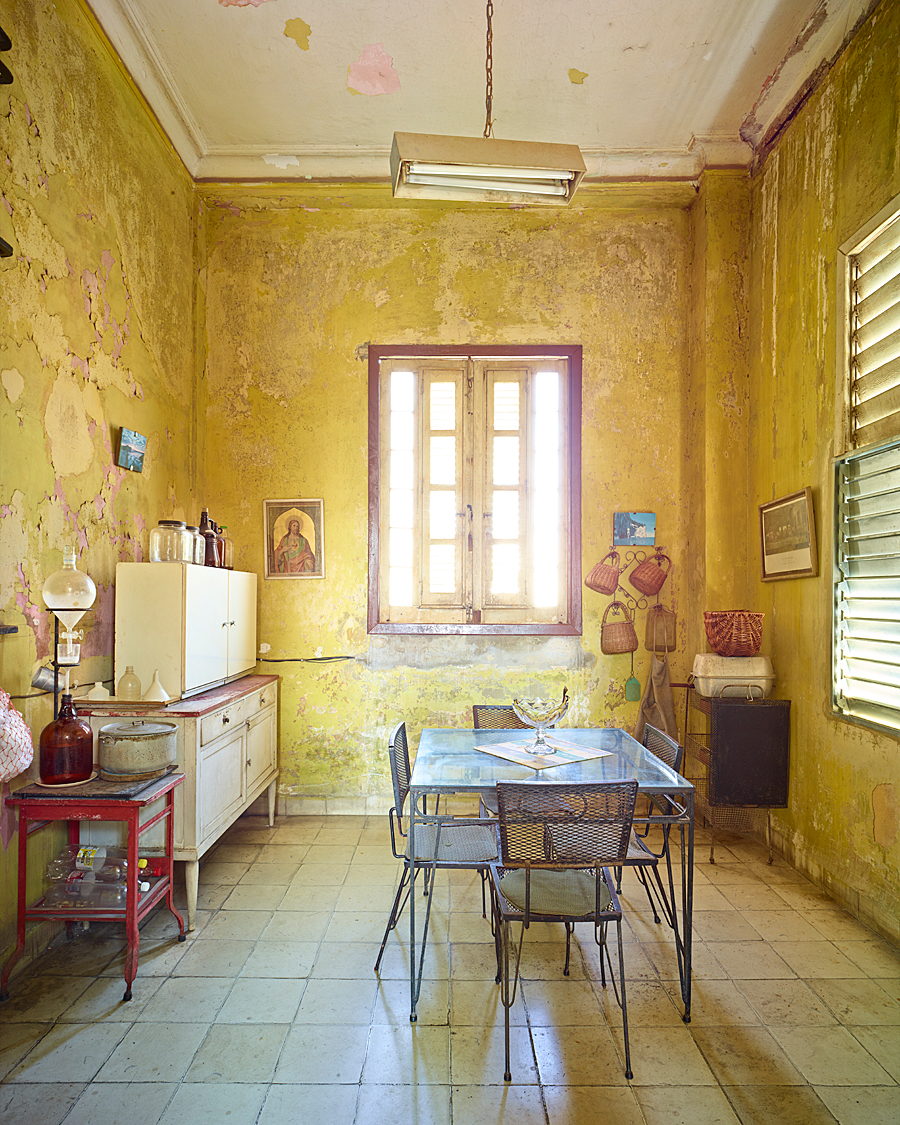 Yellow Kitchen, Havanna, Cuba, 2014