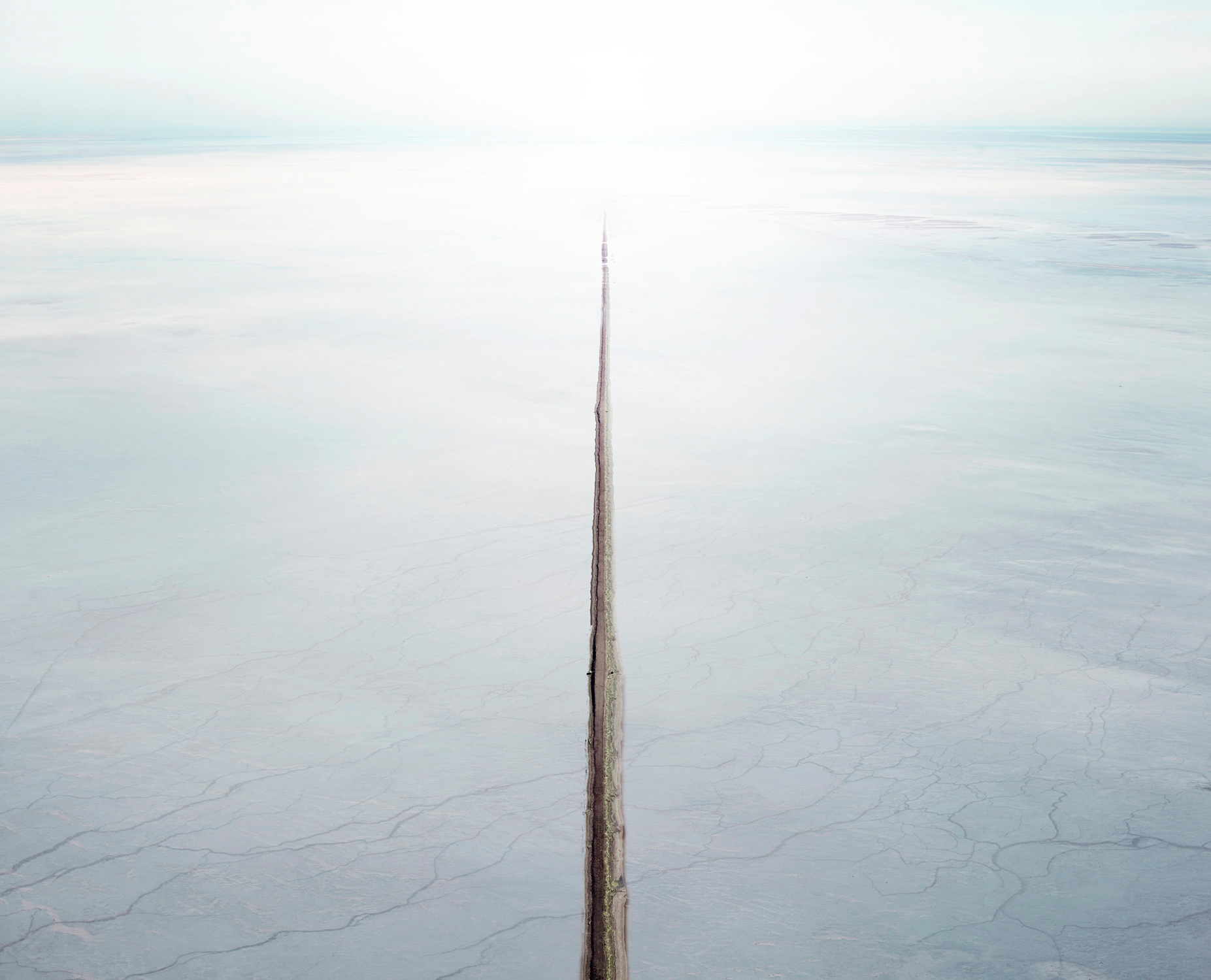 Salt Flat & Canal, Sea of Cortez, Mexico, 2016