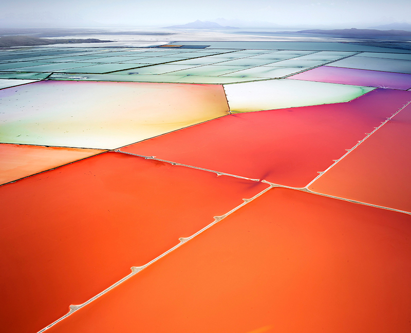 Saltern Study 10, Great Salt Lake, Utah, 2015