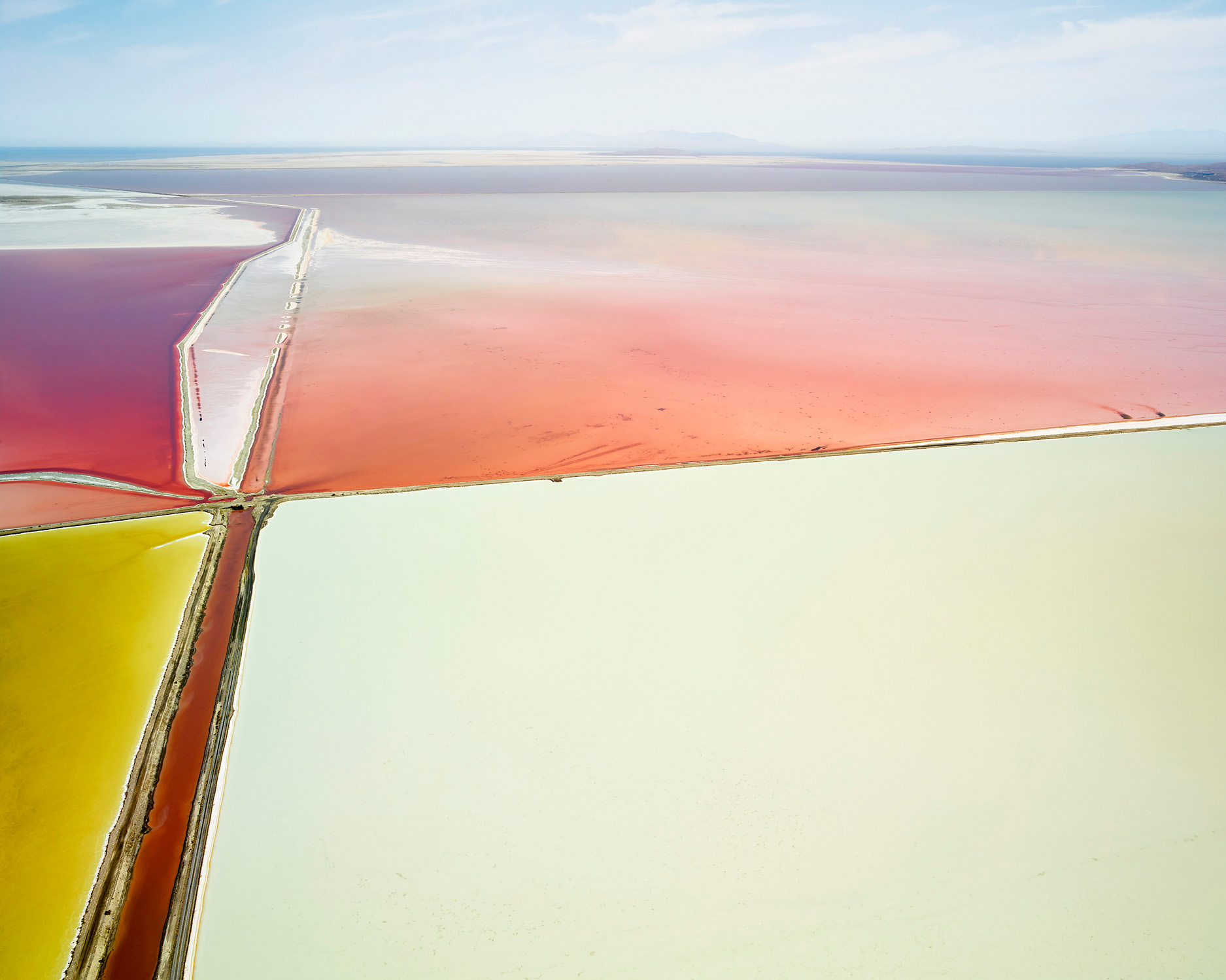 Saltern Study 11, Great Salt Lake, UT, 2015