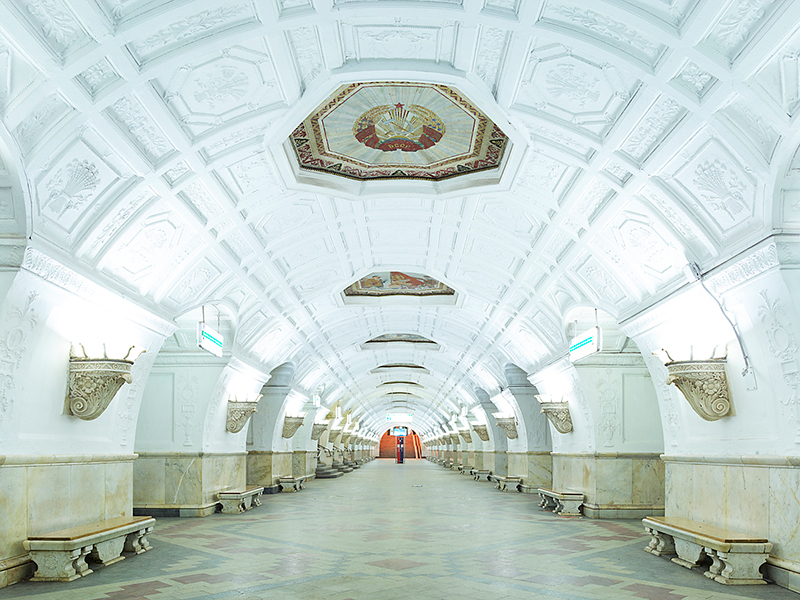 Untitled 1, Moscow Metro, 2015