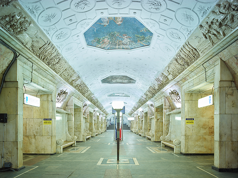 Untitled 2, Moscow Metro, 2015