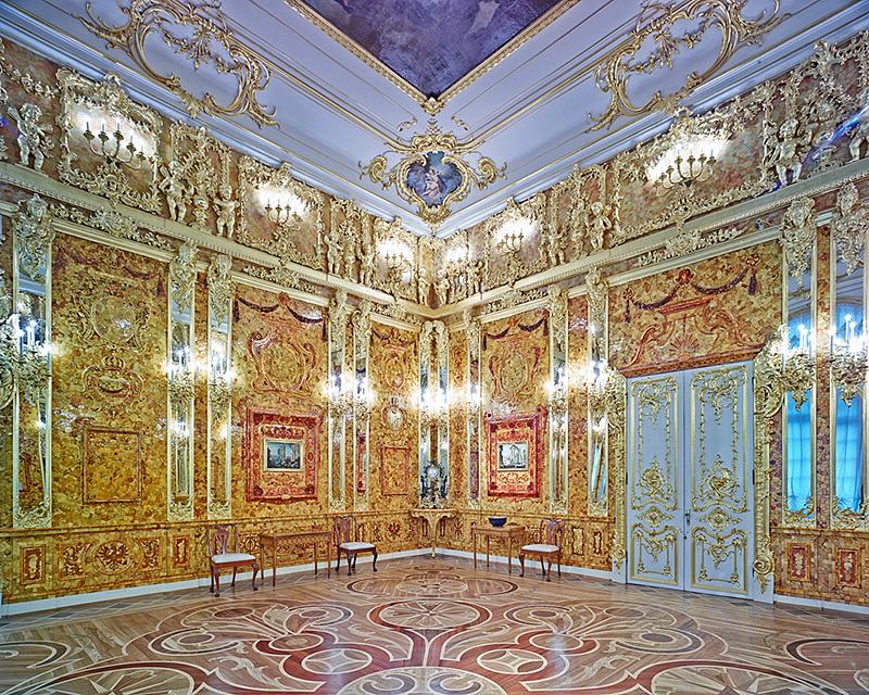 Amber Room, Catherine Palace, 2015