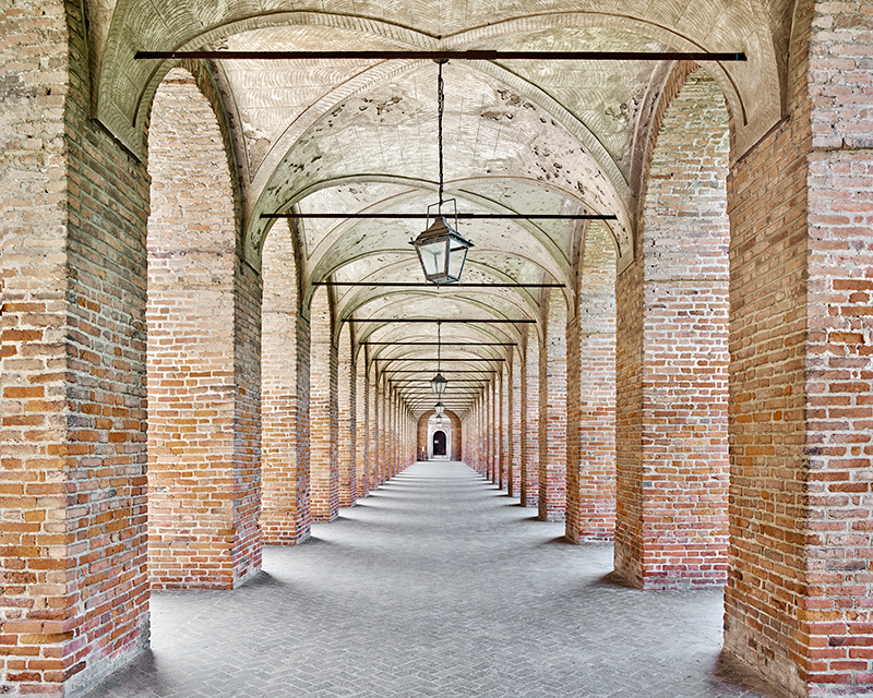 Galleria degli Antichi, Sabbioneta MN, Italy, 2016