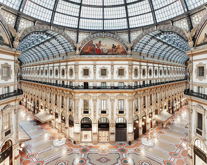 Galleria Vittorio Emanuele II, Milan, Italy, 2016