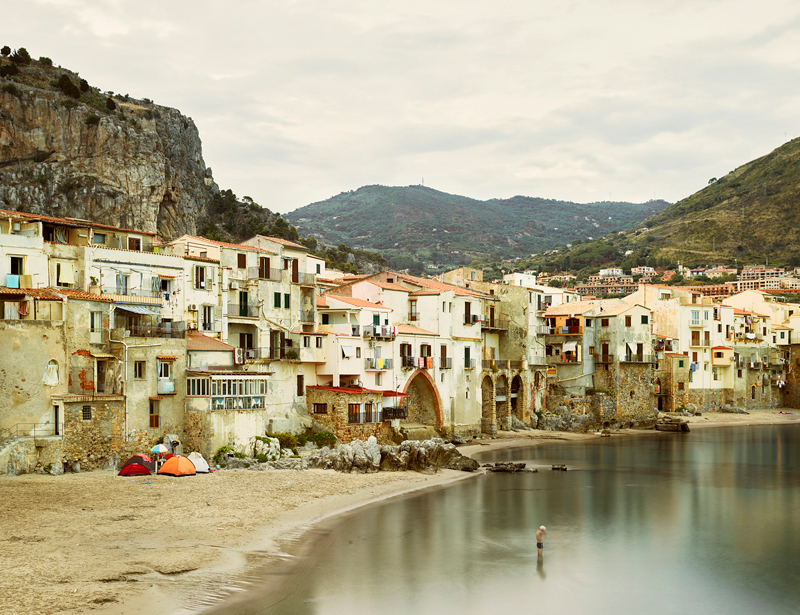 Swimmer, Tyrrhenian Sea, Sicily, 2016,