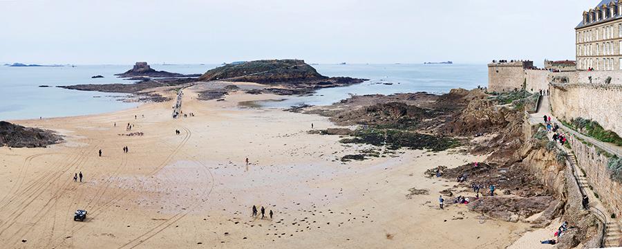Sunday Sun, St-Malo, Normandy, France, 2017