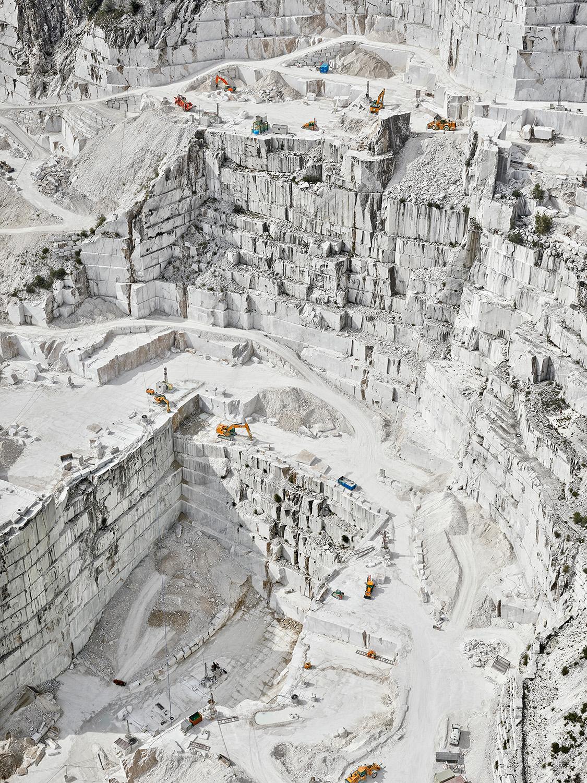 Cava Bianco III, Carrara, Italy, 2018