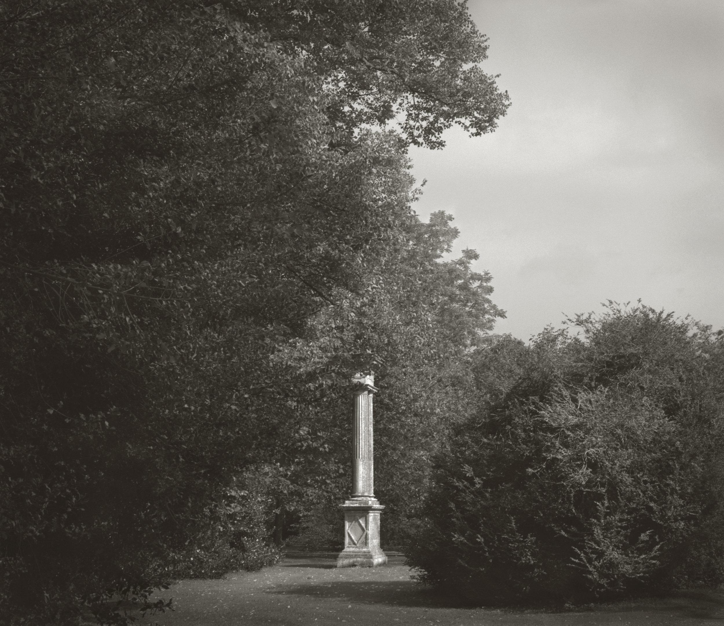 Column Lacock Abbey