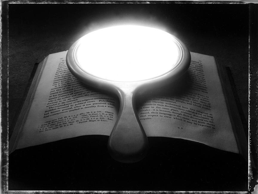 Sean Kernan -  Book with Mirror