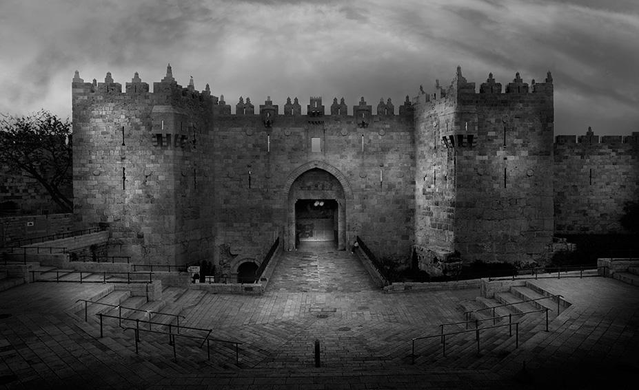 Jean Michel Berts -  Damascus Gate