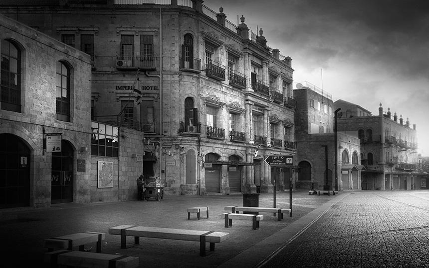 Jean Michel Berts -  Jaffa Gate