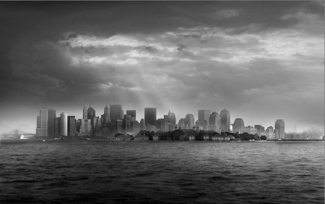 Jean Michel Berts -  Manhattan from New Jersey